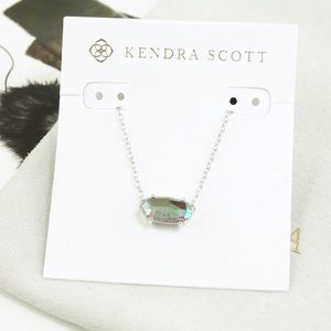 Kendra Scott Ever Necklace Dichroic Silver